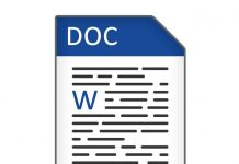 Dateityp Icon DOC