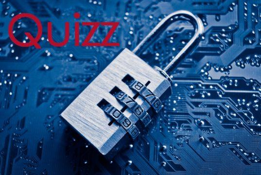 quizz mot de passe sécurisé